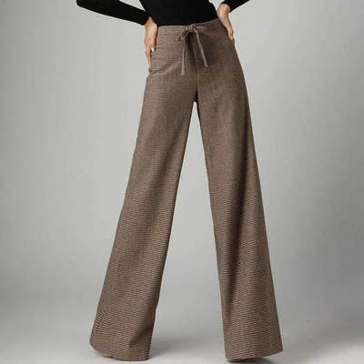Wide pants women: photo, overview of models, what to wear?