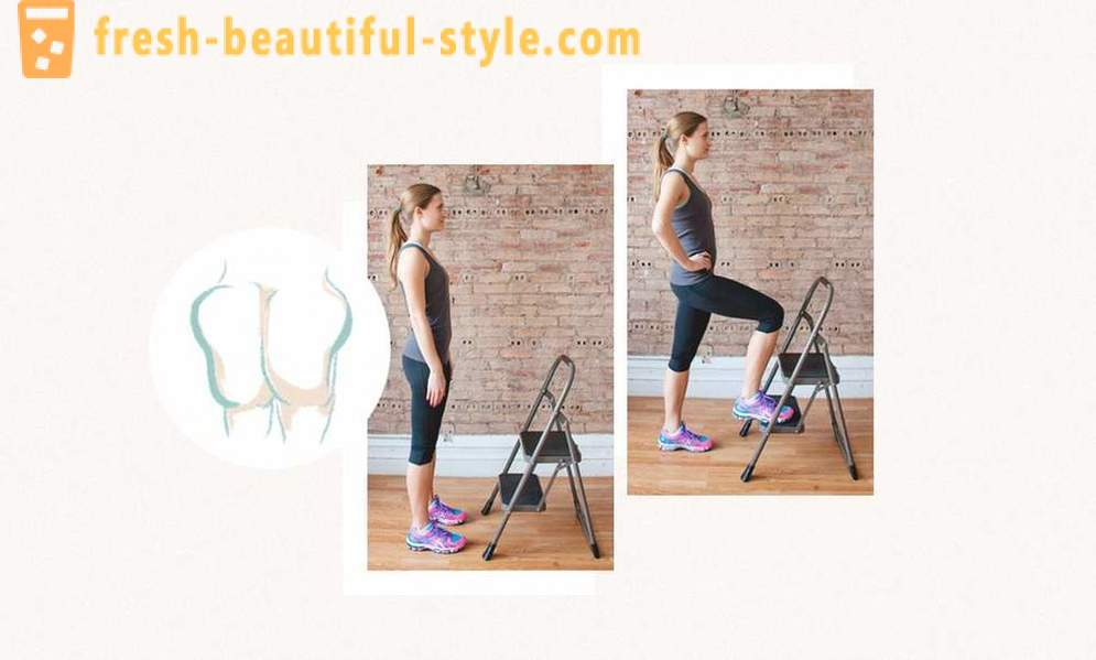 Simple exercises for perfect glutes