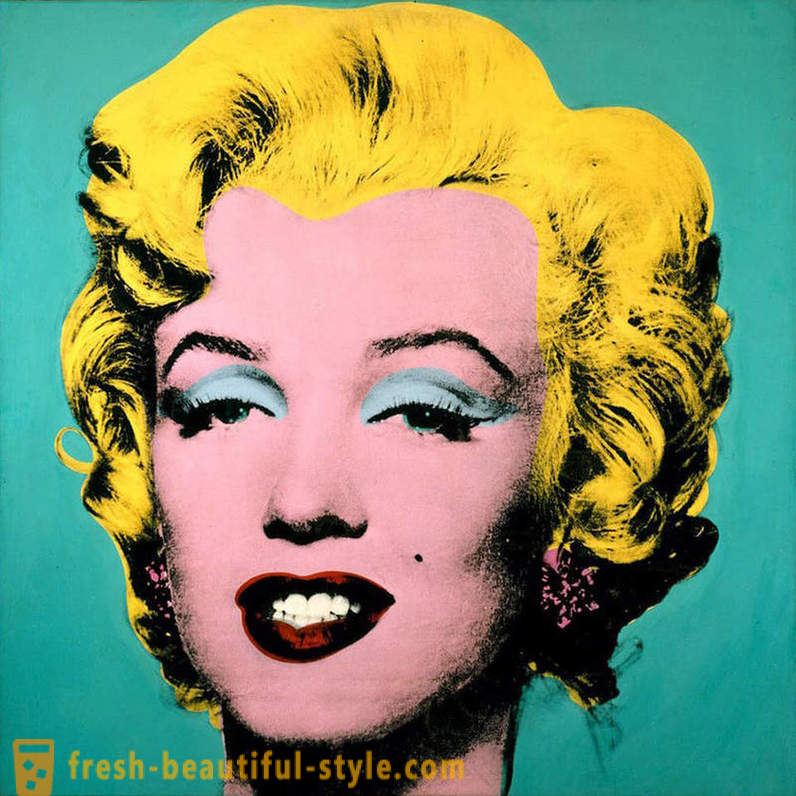 The most expensive work of the artist Andy Warhol