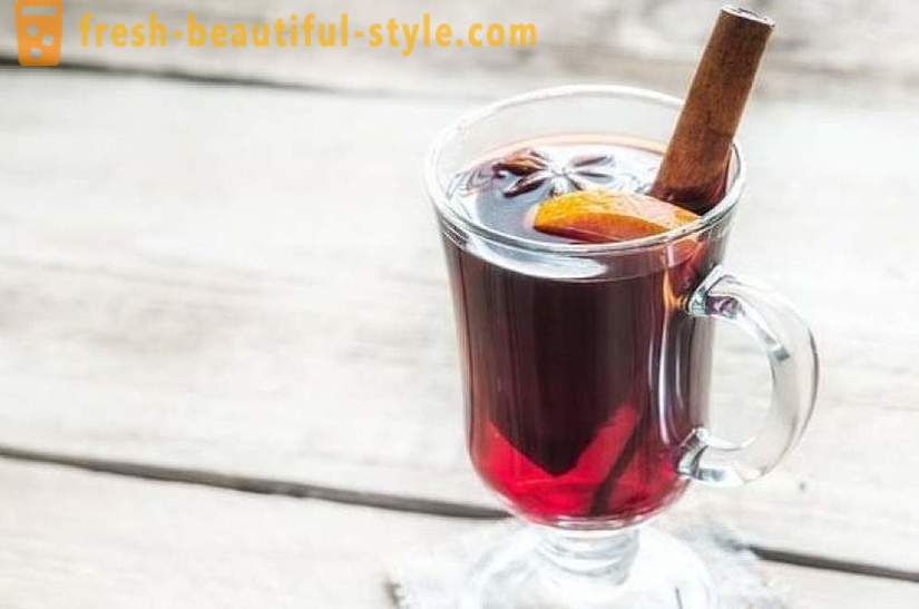 The best recipes of mulled wine