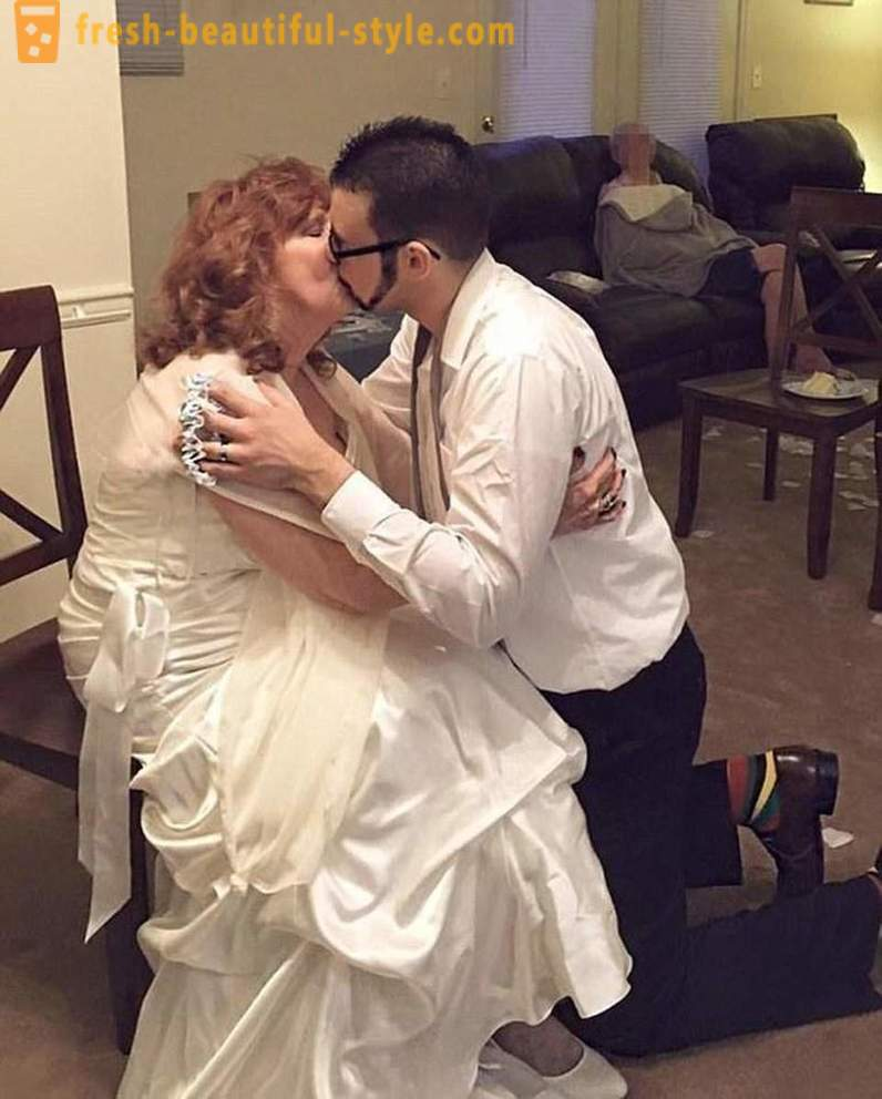 17-year-old American, he married 71-year-old pensioner
