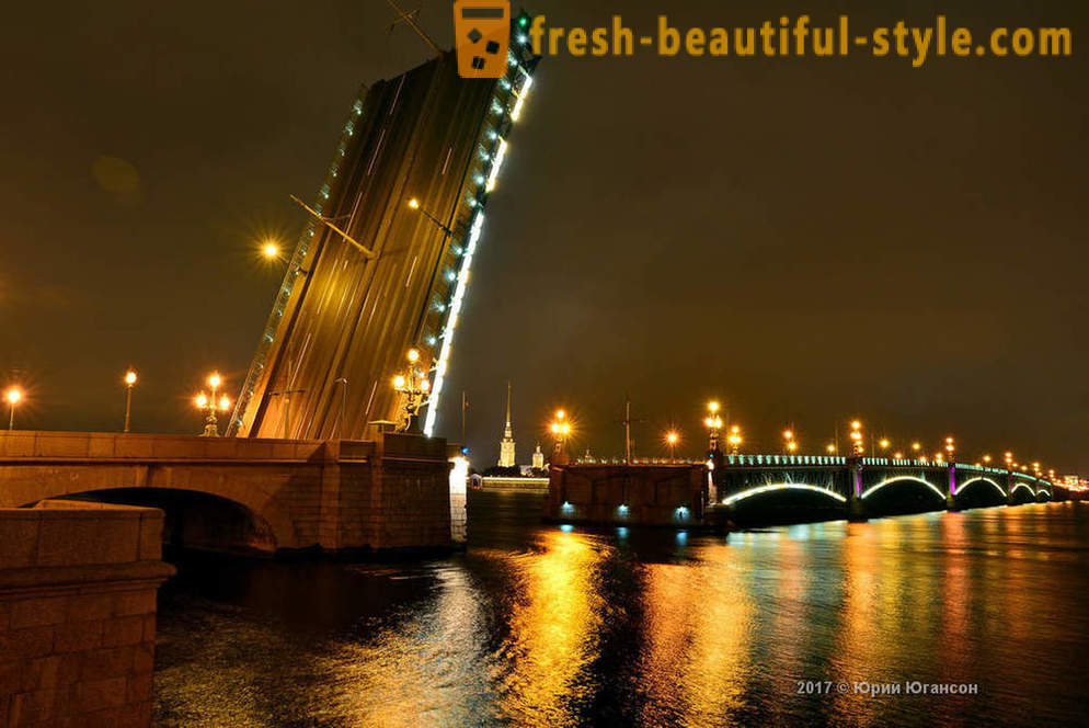 Magic beauty of St. Petersburg bridges