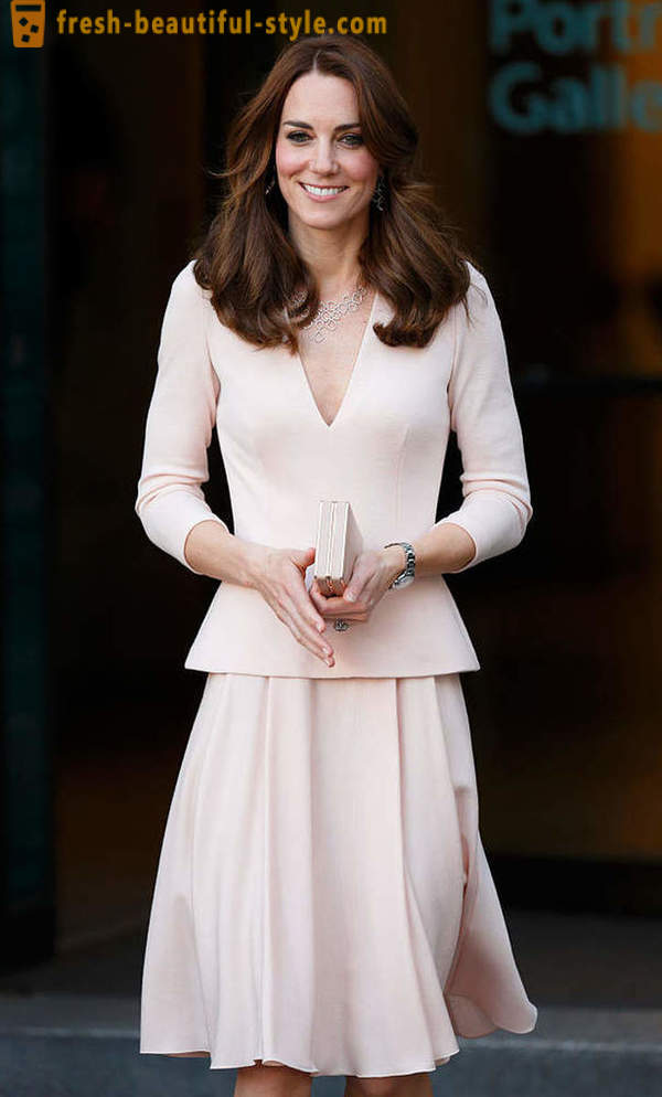 When the impeccable style of Kate Middleton broke the royal dress code