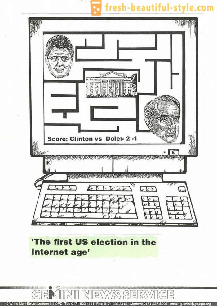Presidential elections in the United States over the past 55 years: the materials from the archives of The Guardian