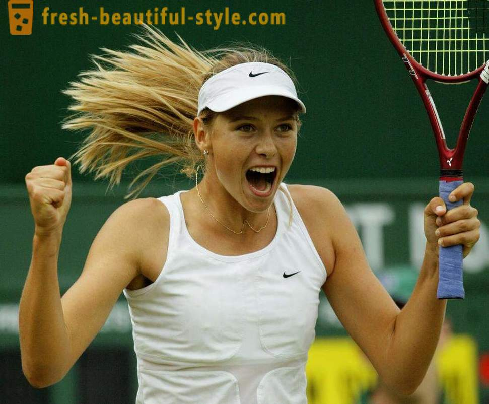 Unfortunate mistake of Maria Sharapova, her faltering career
