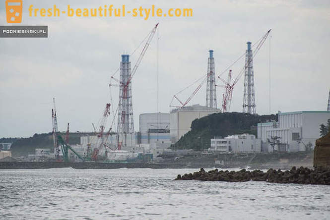 How does Fukushima after almost 5 years after the accident