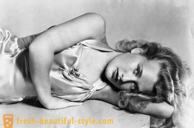 Hollywood actress of the 1930s, fascinating for its beauty and today