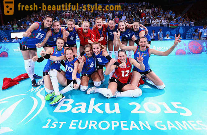 The first European Games in Baku