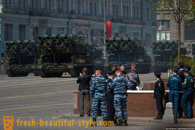 How was the anniversary of the Victory Parade