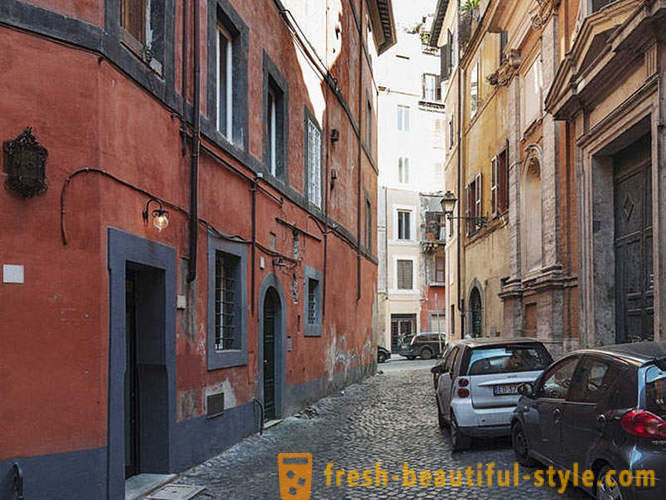 Flat area of ​​7 square meters in Rome