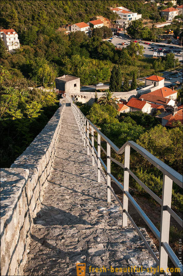 Walk on the Wall of China Croatian peninsula