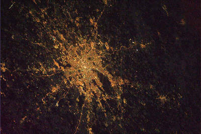Night cities from space - the latest pictures from the ISS