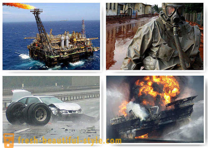 Major man-made disasters of the 21st century
