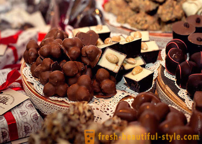 Feast of chocolate in Lvov
