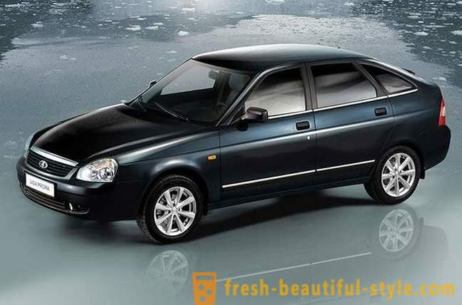 25 best-selling cars in Russia in 2012