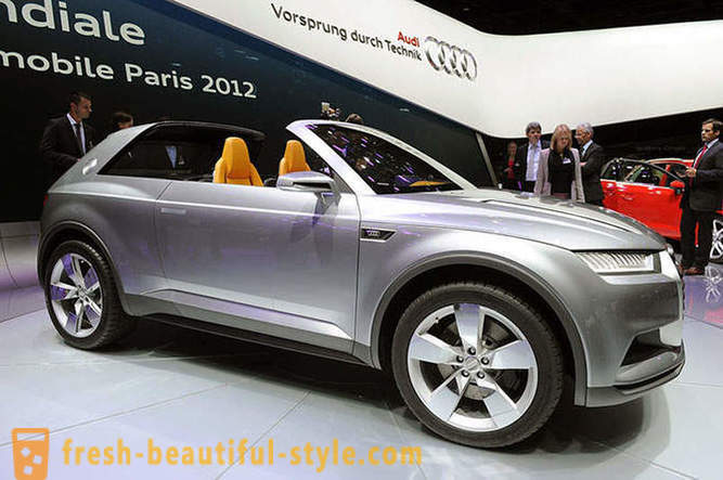 Paris Motor Show 2012 - burly giants