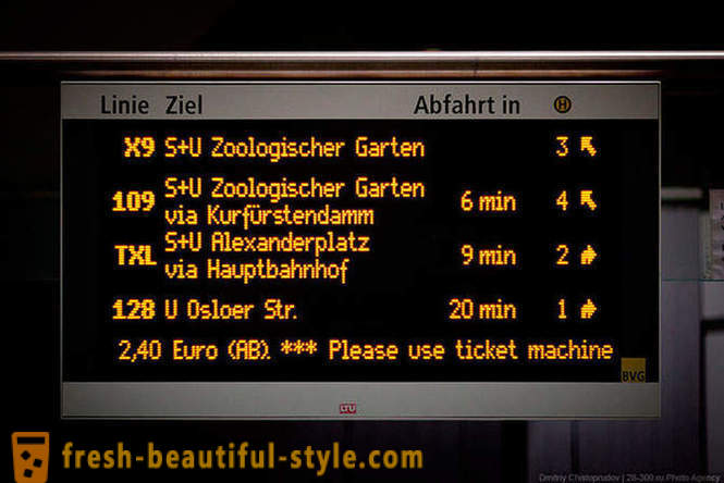Berlin public transport