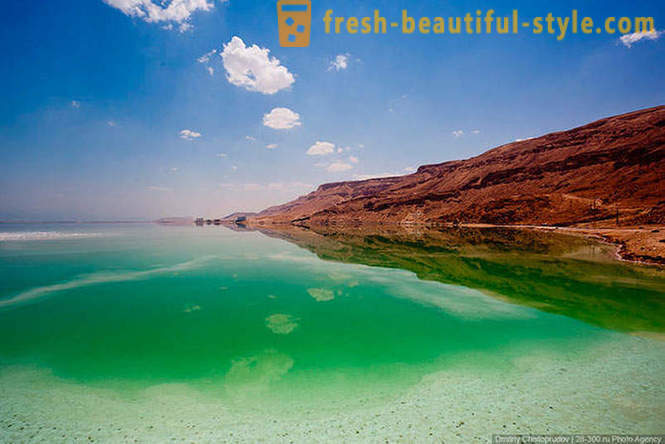 The Dead Sea in Israel