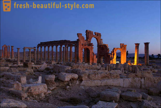 Palmyra - a great city in the desert