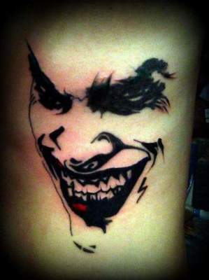 Joker Tattoo: symbols and photos