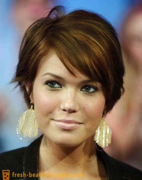 Round face. Top women's haircuts and hairstyles for round face shapes (photo)