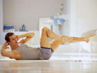 Morning exercises for men. Complex of morning gymnastics