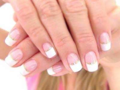How to Make a French manicure at home? French manicure on short nails