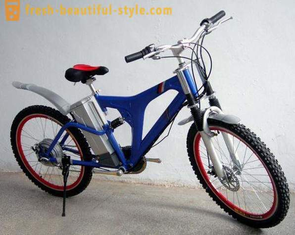 Modern motor bicycle